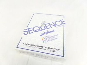 NEW Sequence Board Game For Ages 7 To Adult From 1982 From 2 - 12 Players