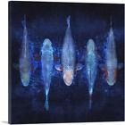 ARTCANVAS Asagi Koi Carp Fish Japan China Canvas Art Print