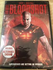 🔥🔥 Bloodshot DVD & DIGITAL 2020 Vin Diesel/Guy Pearce FREE SHIPPING
