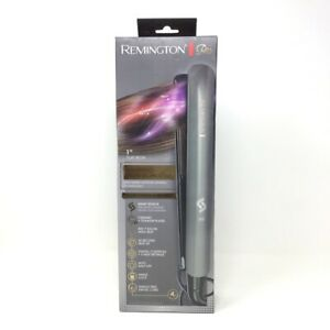 """Remington Pro 1"""" Flat Iron With SmartPRO Sensor Technology - Charcoal 5A193"""
