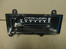 81-87 Chevy Square Body Pickup Truck Climate Control Heater A/C Switch