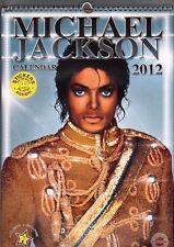 MICHAEL JACKSON  2012  CALENDAR ,  with stickers   by Imagicom