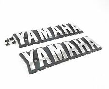 Yamaha Emblems Badges Chrome BR250T BR250 BR250TS Bravo LT Snowmobile BR 250 NEW