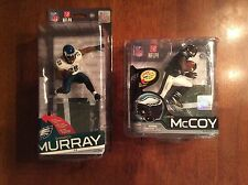 "DeMarco Murray ""Chase"" & LeSean McCoy McFarlane action figures."