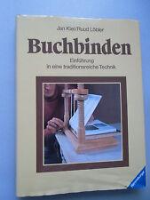 Buchbinden Einführung in eine traditionsreiche Technik 1981