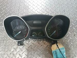 FORD FOCUS INSTRUMENT CLUSTER, PETROL, AUTO, LW, 05/11-08/15