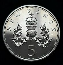 More details for 1976 great britain elizabeth ii – 5p five pence proof coin