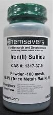 Ironii Sulfide Powder 100 Mesh 998 Trace Metals Basis 50g