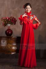 Chinese wedding dress QiPao Kwa Cheongsam 32 - Pregnancy Style, high / mid waist