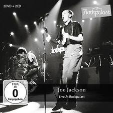 JOE JACKSON New Sealed 2017 LIVE 1980s CONCERTS 2 DVD & 2 CD BOXSET