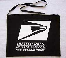 USPS PRO CYCLING TEAM Black Musette Bag NEW Free Shipping !!