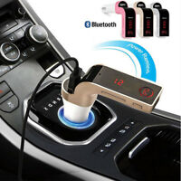 G7 Bluetooth Car Kit Handsfree FM Transmitter Radio MP3 Player & USB Car Charger