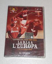 Dvd LA STORIA DEL TORO 1989-2000 Vol 8 LA B LA A L'EUROPA Torino Calcio