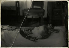 PHOTO ANCIENNE - VINTAGE SNAPSHOT - ENFANT DÉFUNT MORT POST MORTEM - DEAD CHILD