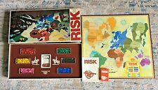 Risk a Vintage Parker Brothers World Conquest Board Game 1975 COMPLETE