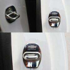 Stainless Steel Door Lock Cover Buckle Cap trim For Chevrolet Camaro 2016-2020