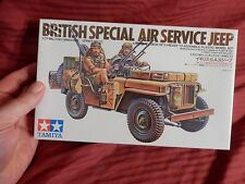 1/35 Tamiya Discontinued British Special Air Service Jeep SAS w/2 Soldiers # 33