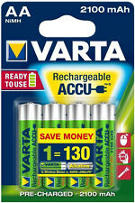 4x varta 56706 AA Batterie Mignon rechargeable ready 2use 2100mah-NEUF emballage d'origine