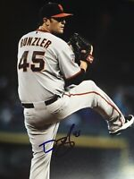 DAN RUNZLER SAN FRANCISCO GIANTS SIGNED 8x10 PHOTO AUTOGRAPHED AUTO