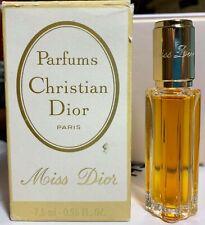 Christian dior miss dior parfum 7,5 ml 0.25 fl oz VINTAGE