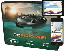 FISHFINDER BAIT BOAT RCF500 WIFI  300M! IOS & ANDROID COMPATIBLE!