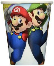 Súper Mario - fiesta de Cumpleaños alcance (vajilla globos & Decoración) Amscan 8 vasos papel