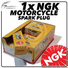 1x NGK Bujía Enchufe para MOTORHISPANIA 125cc RYZ 125 (Motor Yamaha) 05- >