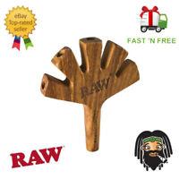 RAW Five Barrel Wooden Cigarette Holder w/ Carry Pouch 5 Cigarette Holder
