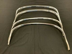 1970-1972 Oldsmobile F-85, Cutlass, 442, W-30 Wheel Well Opening Moldings