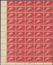615, Vf Mint Nh Full Sheet of 50 2¢ Stamps Brookman $550.00 - Stuart Katz