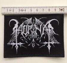 Horna - Logo Aufnäher / Patch (Taake,Totenburg, Black Metal Sammlung)