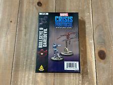 Marvel Crisis Protocol Bullseye and Daredevil Tabletop Miniatures