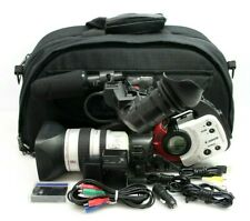 CANON DM-XL1S A MiniDV 3CCD Digital Video Camcorder And Accessories