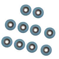 10pcs Disques à Lamelles 100mm x 16mm Zirconium