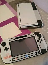 Vinyl skin vinyl nes retro wii u for Console + touch panel from spain