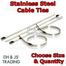 High Quality Stainless Steel Cable Ties – Strong Metal Zip Tie Exhaust Cable Tie