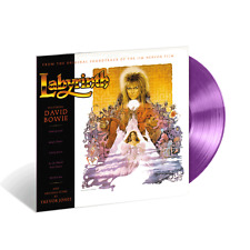 David Bowie / Trevor Jones Labyrinth Soundtrack - Limited Edition Lavender Vinyl