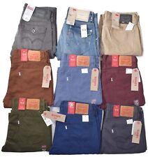 Levis 514 Men's Slim Straight Twill/Denim Jeans Choose Color & Size