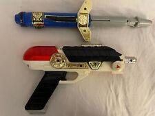 Power Rangers Zeo Blaster Weapon Set 1996 Bandai NOT complete