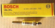 Bougie de préchauffage BOSCH  0 250 200 052 - 0250200052 - VW AUDI 80 100 VOLVO