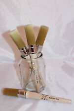 Chalk Paint Round Brush Soft Synthetic 30MM Small British Made Shabby Chic Lears