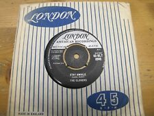 """45-HLT 8949 UK 7"""" 45RPM 1959 THE CLOVERS """"LOVE POTION No.9 / STAY AWHILE"""" EX"""