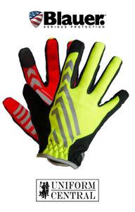 Blauer Bolt Traffic Gloves - Hi-Vis Yellow - Law Enforcement - Details - GL110