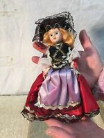 Vintage Brides of All nations Doll Switzerland open shut eyes 7in tall