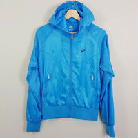 NIKE | Womens Windrunner Blue zip Hooded Jacket  [ Size M or AU 12 / US 8 ]