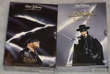 Zorro (Walt Disney) - Complete Seasons 1 & 2 - 12 DVD Box Set - NEW & SEALED