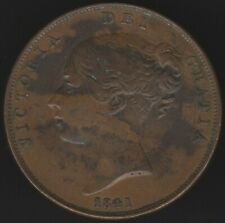 More details for 1841 victoria one penny | british coins | pennies2pounds
