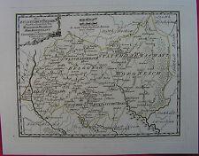 RUSSLAND WORONESCH UKRAINE 1789 REILLY Kupferstich- Karte