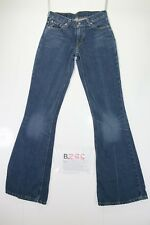 Levis 544 Flare Bootcut Cod. B288 Tg40 W26 L34 vaqueros usados Talle Bajo mujer