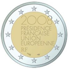 France 2008 - 2 Euro EU Presidency Commem (UNC)